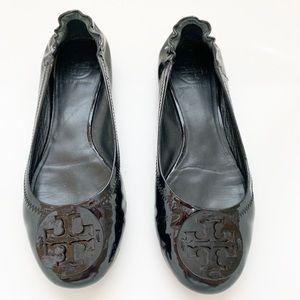 Tory Burch | Minnie Travel Flat Patent Leather